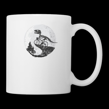 Dinosaur Dino Moon Gift Child Fantasy Primeval - Mug