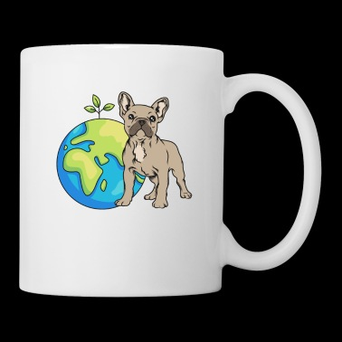 French Bulldog Earth Day Gift Umwel - Mok