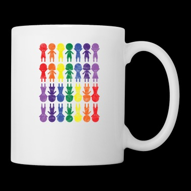 Rainbow CSD Diversity Tolerance Gift Gender - Mugg