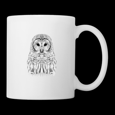 SNOWEEULE OWL GIFT ANIMAL NATURE FOREST WHITE - Mugg