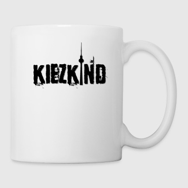 Kiezkind Shirt Berlin T-Shirt Idea regalo - Tazza
