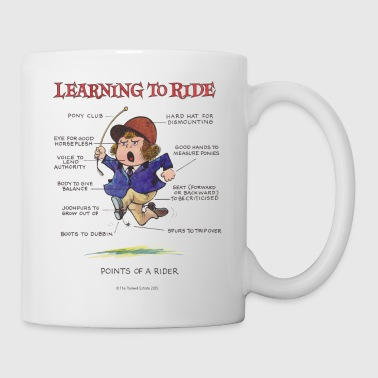 Thelwell - Learning to ride - Mug