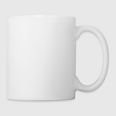 Water skiing, heartbeat design - Mug