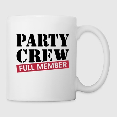 Party Crew full member Grappig drinking team  - Mok