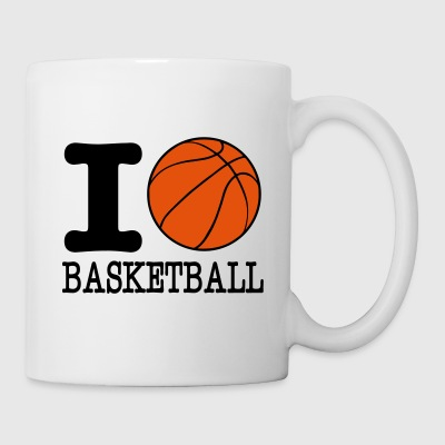j'aime le basket-ball / I love basket-ball - Tasse