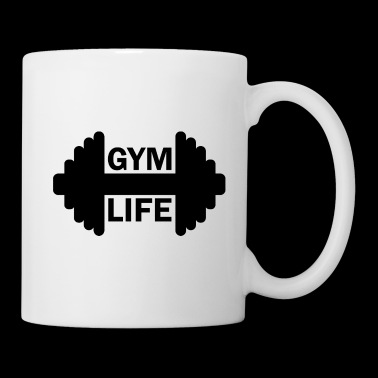 Dumbbell Gym Life Fitness Gainz Biceps - Mugg