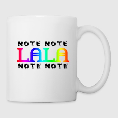 Note Note Lala Note Note - Tasse