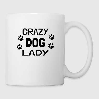 Crazy Dog Lady - gift - Mug