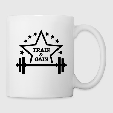 Train + gain Fitness Gym Workout Trening - Kopp