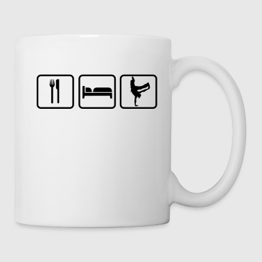 Eat Sleep Breakdance - Taza