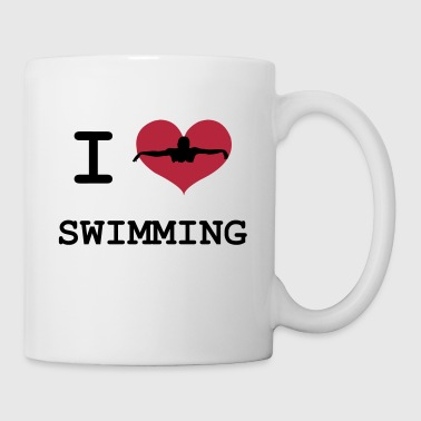 I Love Swimming - Kubek
