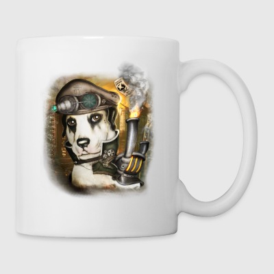 Steampunk Dog #3 - Tazza