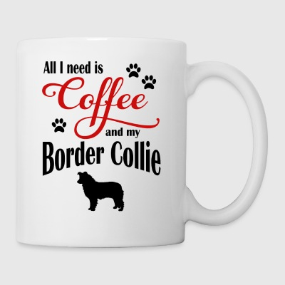 Border Collie Café - Taza