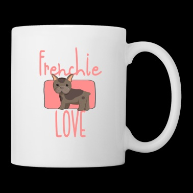 Love Frenchie - Dogue Allemand / Bulldog / Carlin - Mug blanc