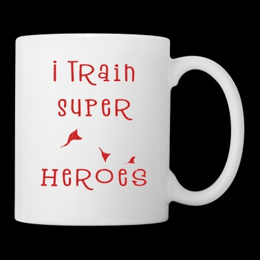 I Train Super Heroes - Teacher - Kleuterjuf - Mok