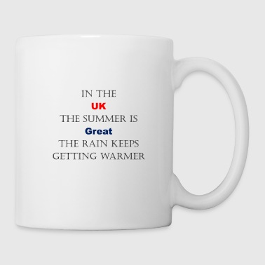 UK Weather Joke - Tasse