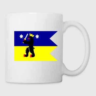 Flag of the Satakunta Region in Finland - Mug