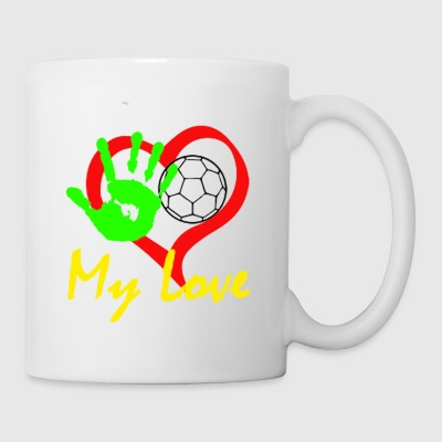 Handball my Love - Mug