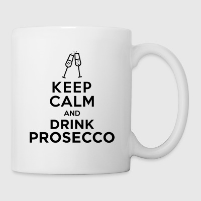 keepcalm prosecco black - Mug