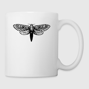 Moth drawing - Mug