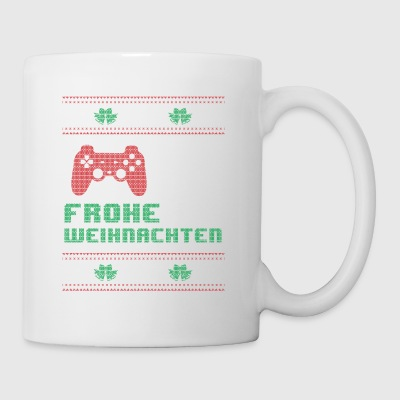 Gamer Gaming Shirt Frohe Weihnachten - Tasse