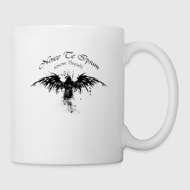 Eagle Splatter Design - Tazza