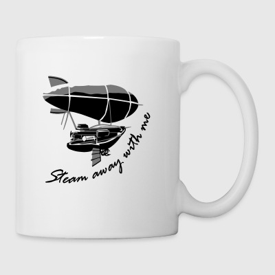 Steam away Airship - Tasse