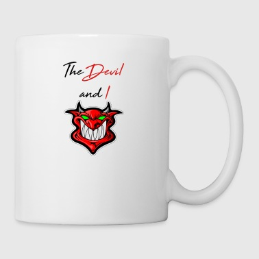 the devil and i - Mug