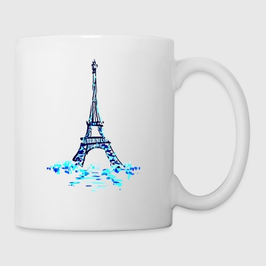 eiffel on ice - Tasse