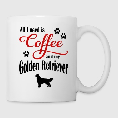 Golden Retriever Kaffe - Kop/krus