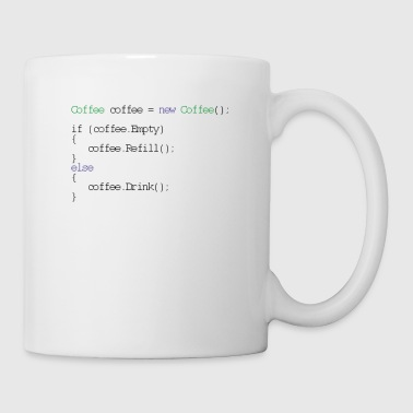 Coffee design for programmers and coders - css - Mug