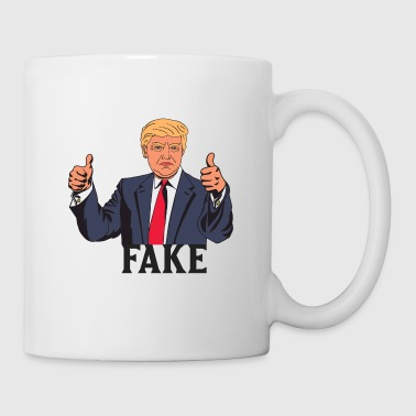 TRUMP FAKE - Tasse