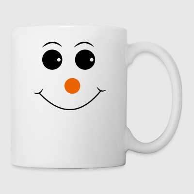 Smiley avec le nez rouge - Tasse