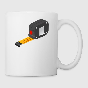 tape measure - Mug
