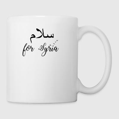 Peace for Syria - Tasse