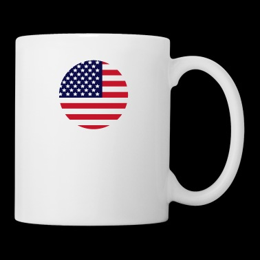 USA flagga - Mugg