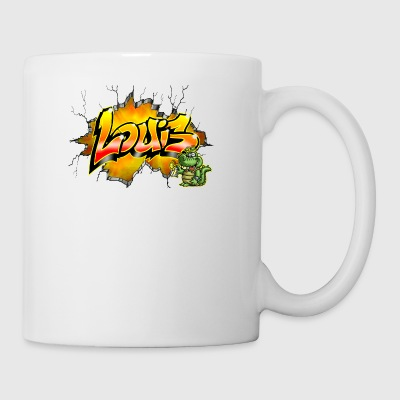 Louis Graffiti - Mugg