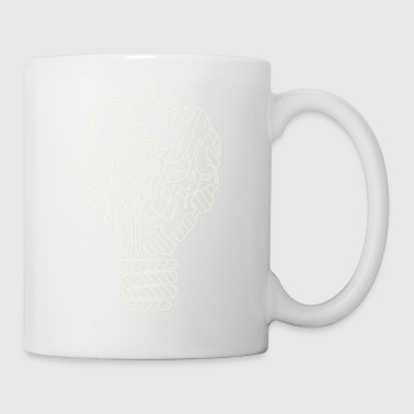 Is there a light on you? Bright candle on the cake? - Mug