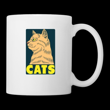 Cats Because People Suck - Cat Lovers Humor - Mug