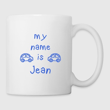 JEAN MY NAME IS - Mug blanc