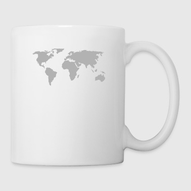 map of the world - Mug