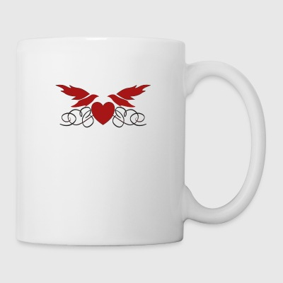 Heart with wings - Mug