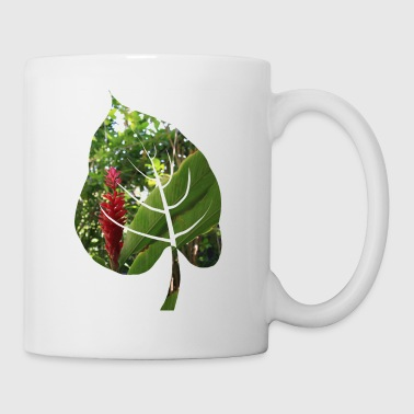 Red bloom - Mug