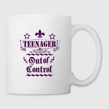 Teenagers out of control - Mug