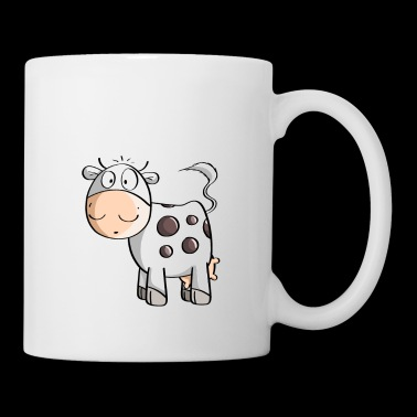 Little Mooo Cow - Vaches - Comic - Mug blanc
