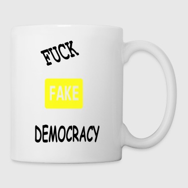 fake democracy - Mug