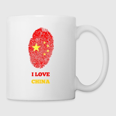 I LOVE CHINA - Tasse