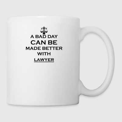 gift better bad day lawyer justice justice - Mug