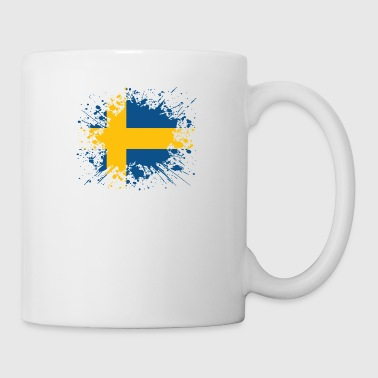 home country roots wurzeln love Schweden png - Tasse