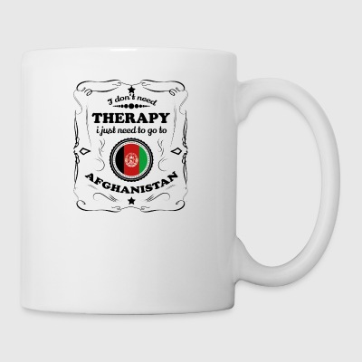 DON T NEED THERAPY GO AFGHANISTAN - Mug